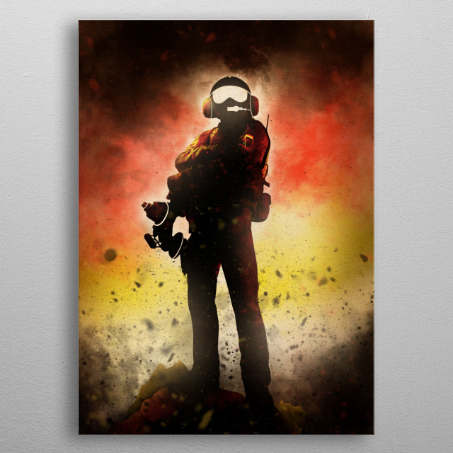 Jäger • German Special Forces metal poster
