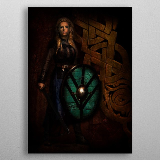Fascinating metal poster designed by Helen Vargas. Displate has a unique signature and hologram on the back to add authenticity to each design. metal poster
