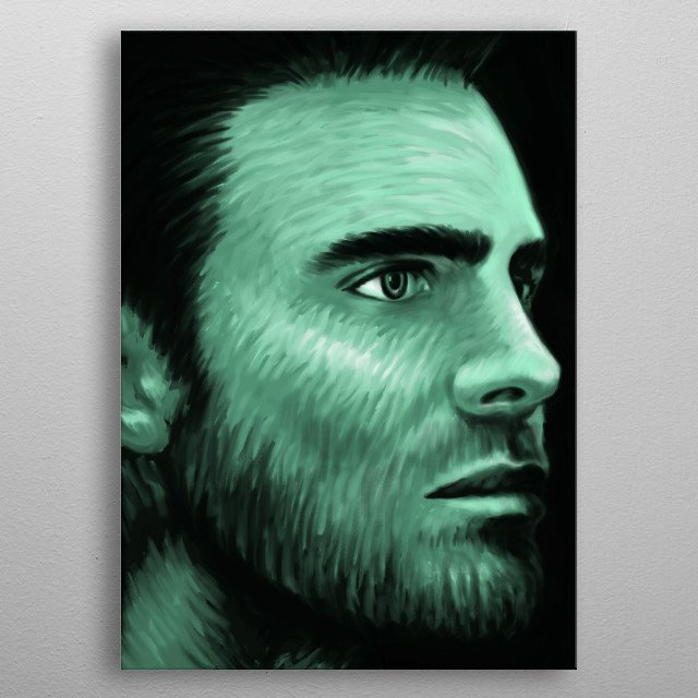 Stephen Amell 03 metal poster