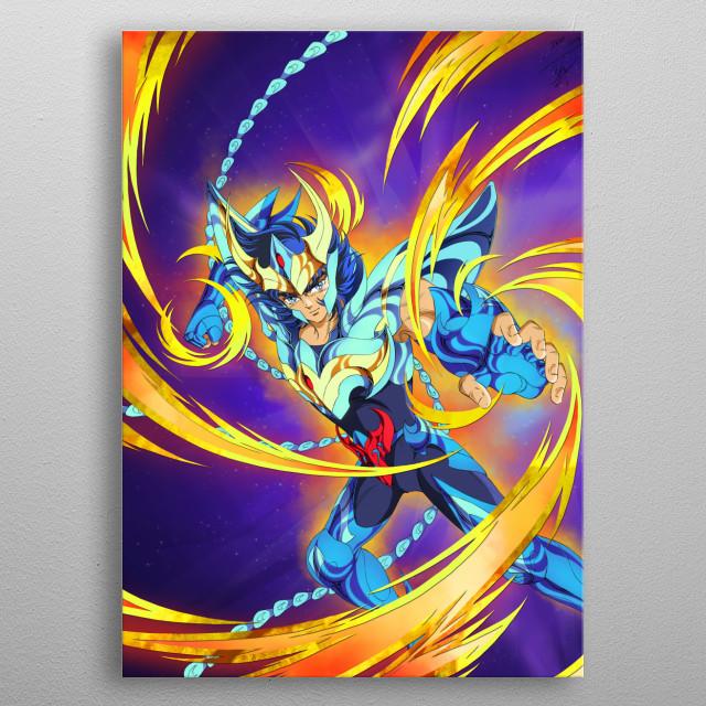 Phoenix Ikki metal poster