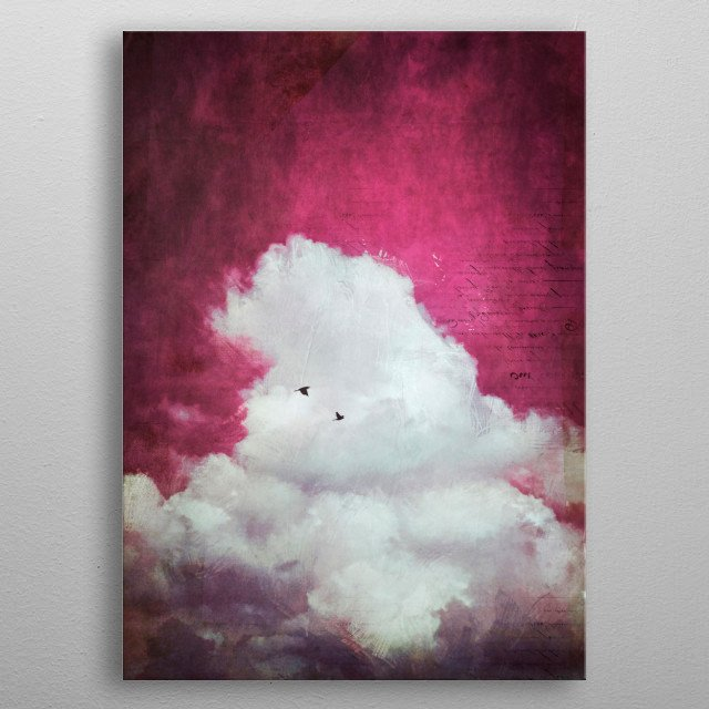 High-quality metal print from amazing Miscellany collection will bring unique style to your space and will show off your personality. metal poster