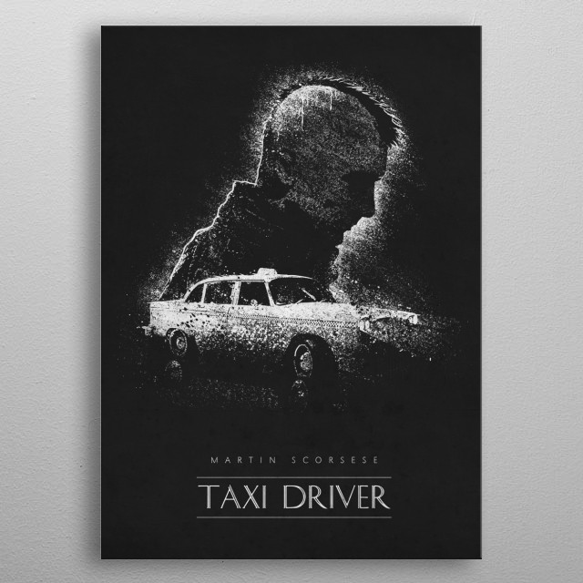 Taxi Driver metal poster