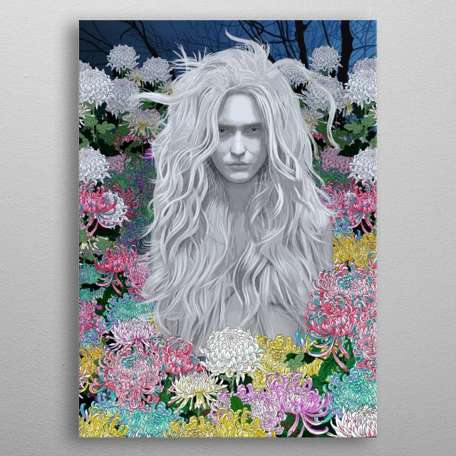 This marvelous metal poster designed by pedrotapa to add authenticity to your place. Display your passion to the whole world. metal poster