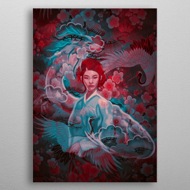 This marvelous metal poster designed by damirmartic to add authenticity to your place. Display your passion to the whole world. metal poster
