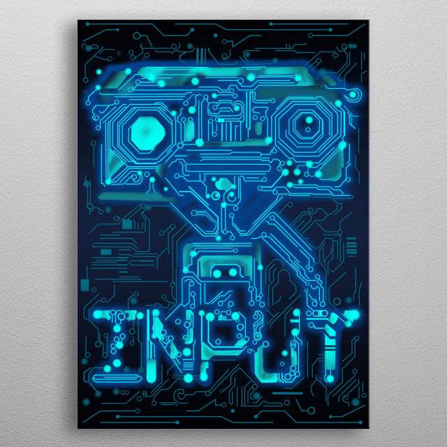 Fascinating  metal poster designed with love by buckrogers. Decorate your space with this design & find daily inspiration in it. metal poster