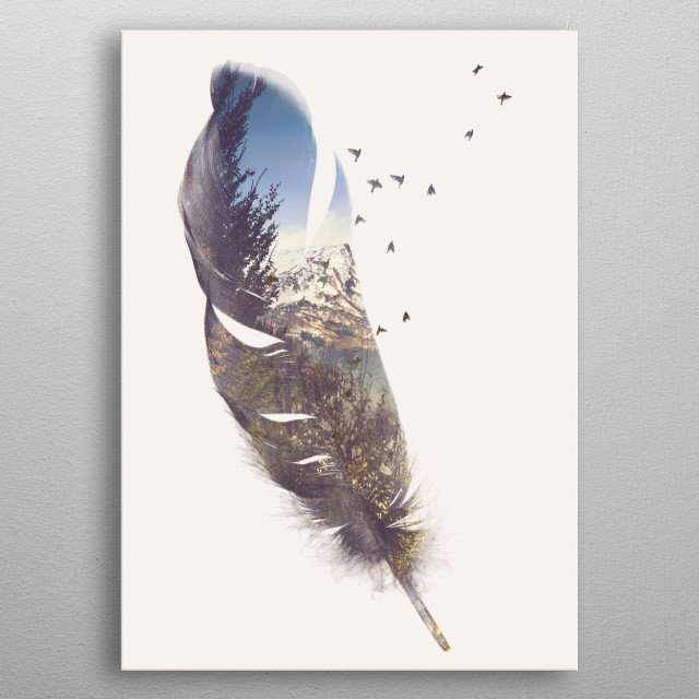High-quality metal print from amazing Creative collection will bring unique style to your space and will show off your personality. metal poster