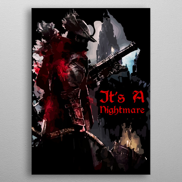 Nightmare metal poster