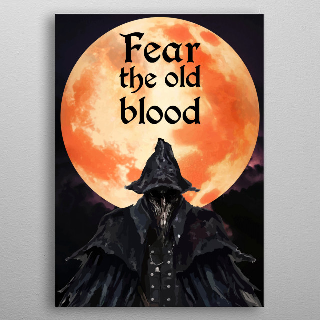 The old blood metal poster