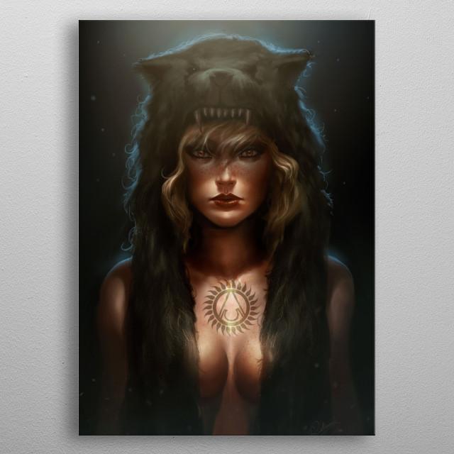 Personal artwork metal poster