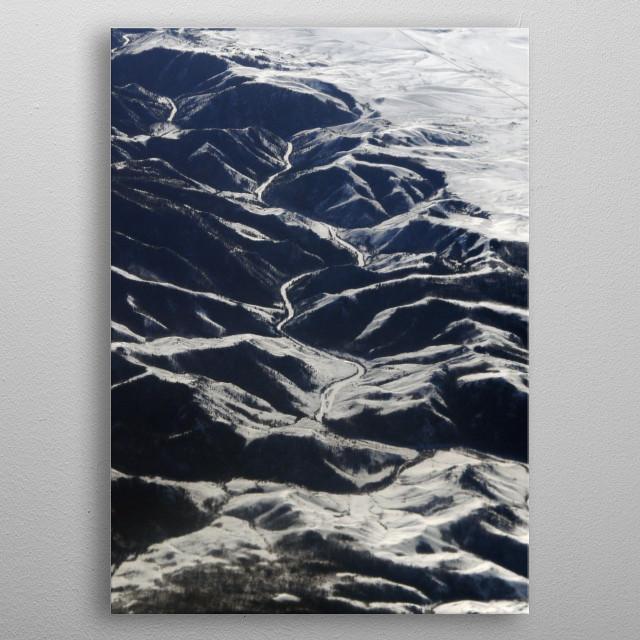 Earth XI metal poster