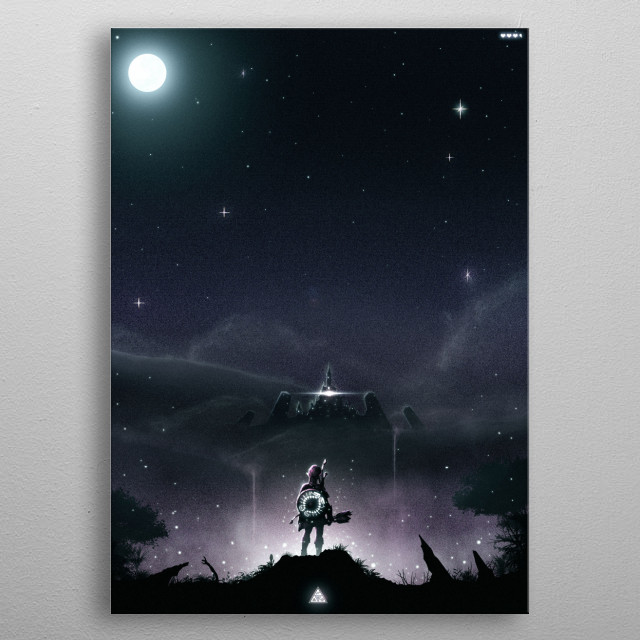 Breath of the Wild metal poster