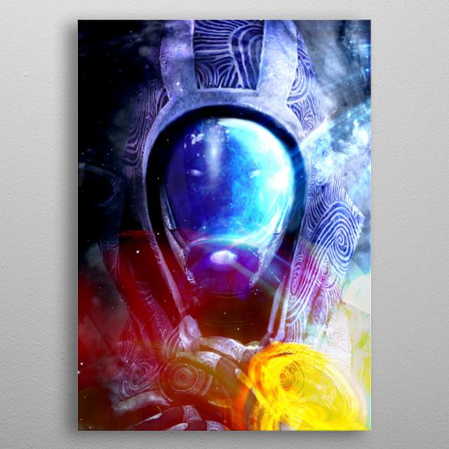Tali Vaz Neema/Normandy // Mass Effect metal poster
