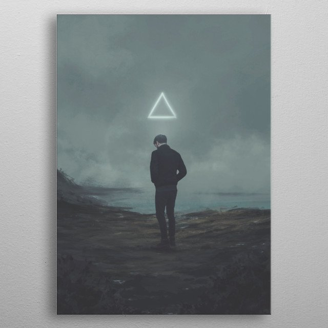 This marvelous metal poster designed by michaelvmanalo to add authenticity to your place. Display your passion to the whole world. metal poster