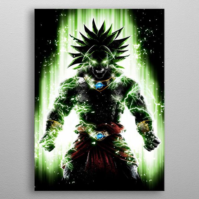 Broly Legendary power metal poster