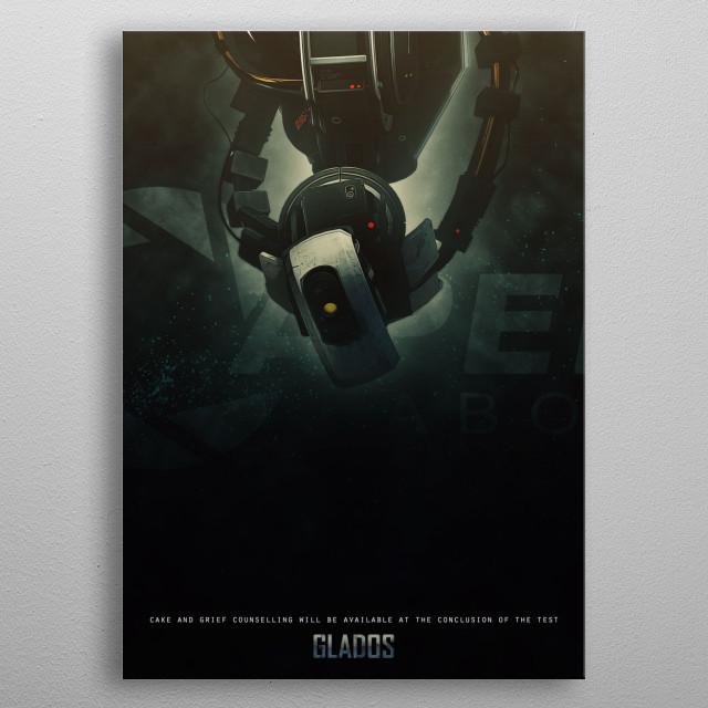 Custom order for fan metal poster