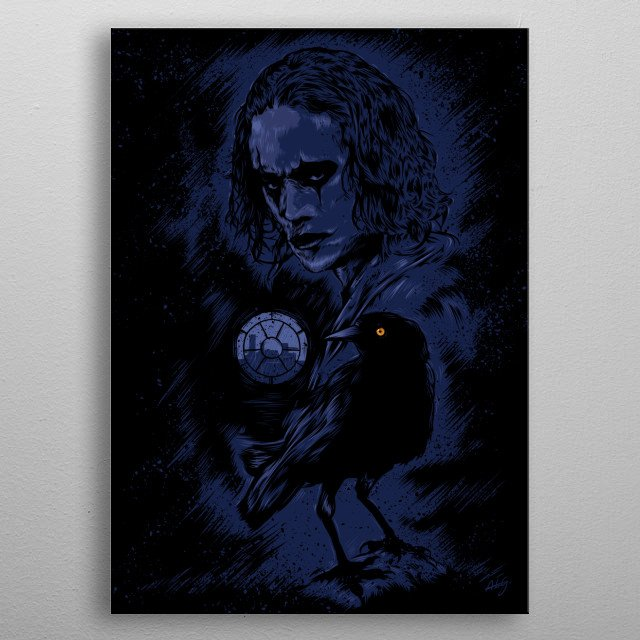 Fascinating metal poster designed by Giordano Aita. Displate has a unique signature and hologram on the back to add authenticity to each design. metal poster