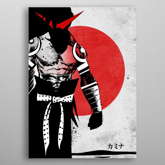 Kamina metal poster