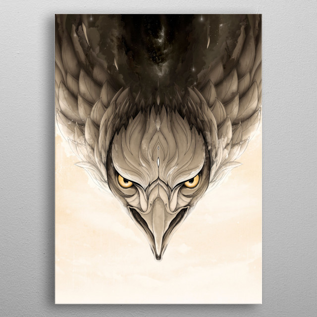Wild Animals collection metal poster