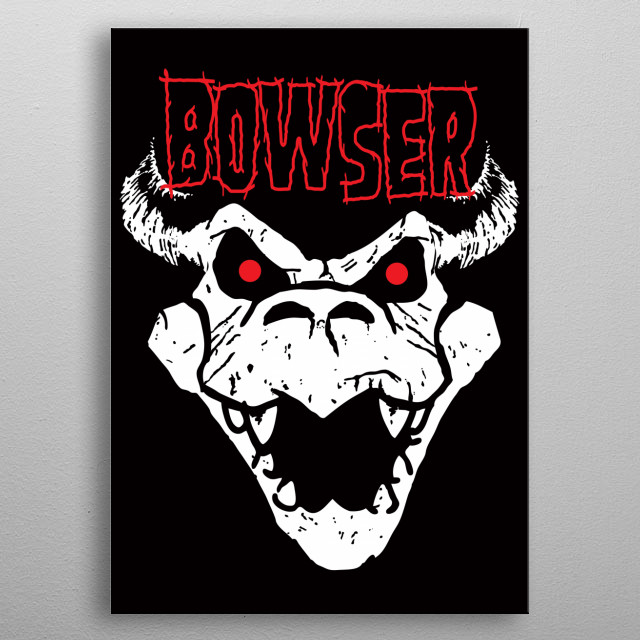A parody inspired by the game Super Mario Brothers. I hope you like it! :) metal poster