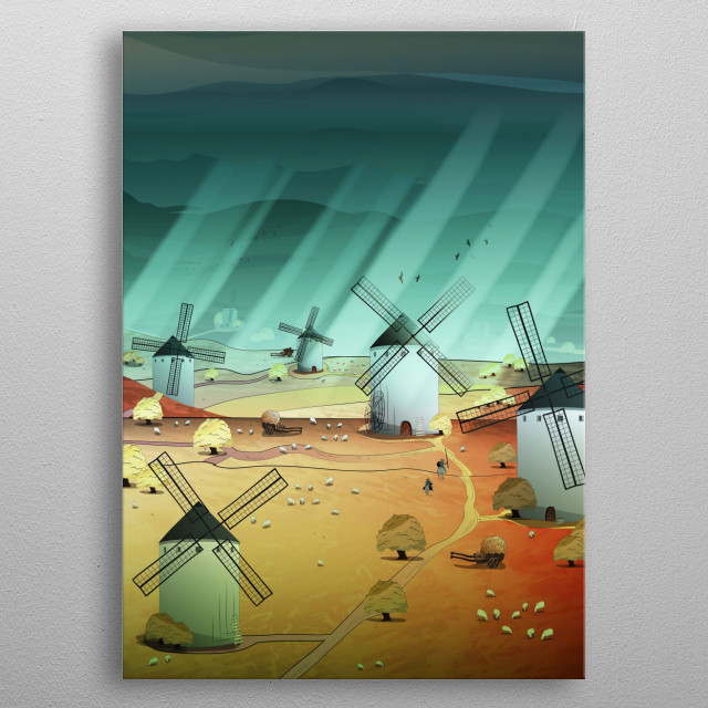 High-quality metal wall art meticulously designed by noeldelmar would bring extraordinary style to your room. Hang it & enjoy. metal poster