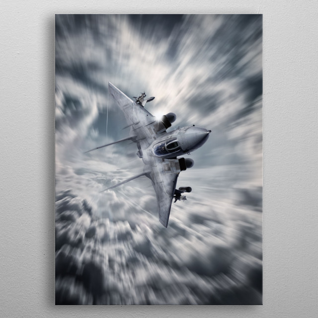 Fascinating metal poster designed by Airpower Art. Displate has a unique signature and hologram on the back to add authenticity to each design. metal poster