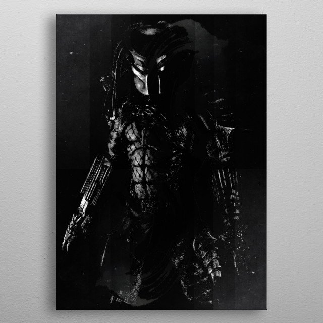Predator | Fear the unkown metal poster
