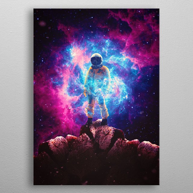 High-quality metal print from amazing Silhouettes collection will bring unique style to your space and will show off your personality. metal poster