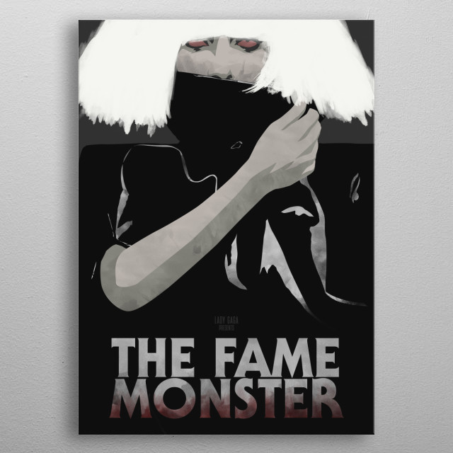 The Fame Monster. metal poster