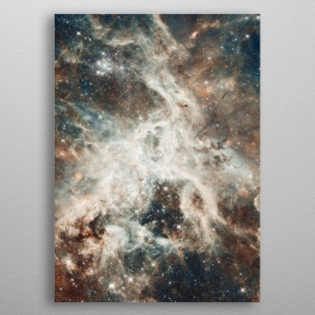 Fascinating metal poster designed by Aloke Design. Displate has a unique signature and hologram on the back to add authenticity to each design. metal poster