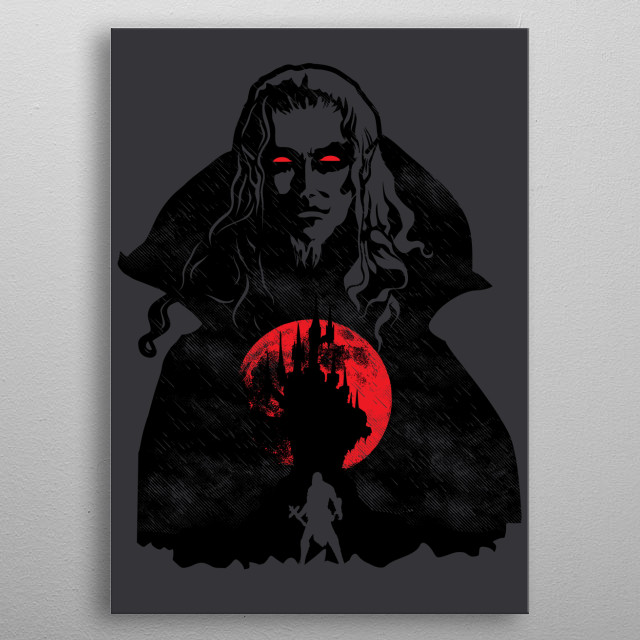 Inspired by the game Castlevania. I hope you like it! :) metal poster