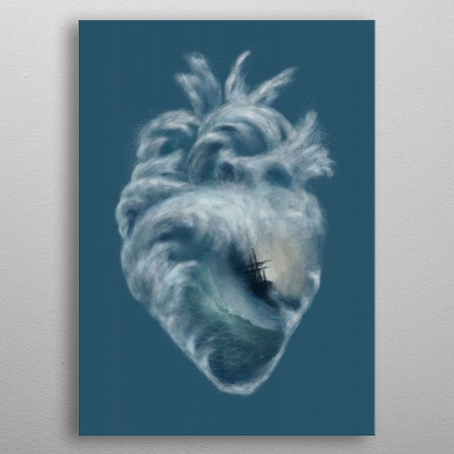High-quality metal print from amazing Nature collection will bring unique style to your space and will show off your personality. metal poster
