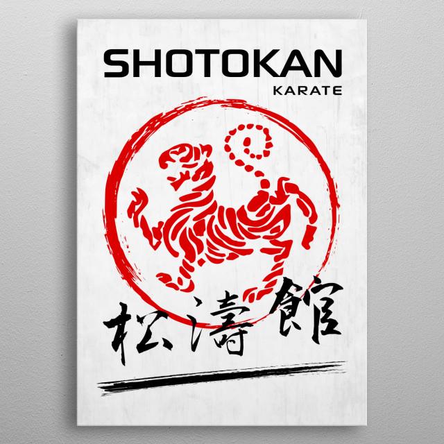 Shotokan Karate metal poster