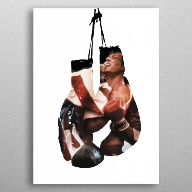 Rocky Balboa metal poster