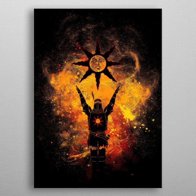 Praise the sun Art metal poster