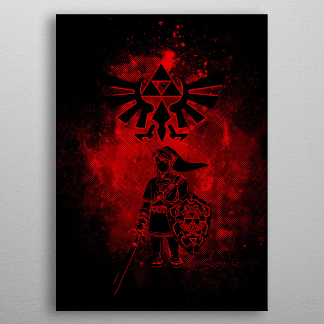 Fascinating  metal poster designed with love by donnie. Decorate your space with this design & find daily inspiration in it. metal poster
