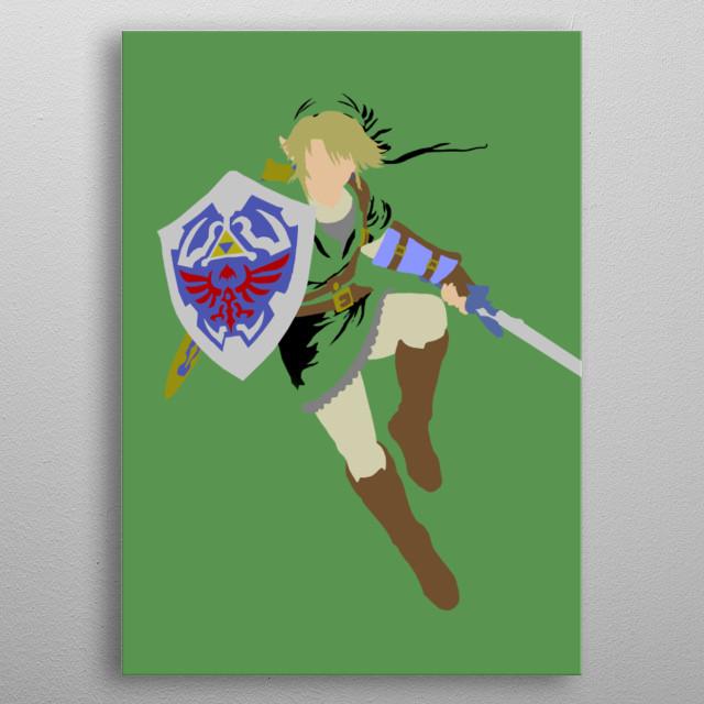 The Hero of Twilight  Legend of Zelda: Twilight Princess metal poster