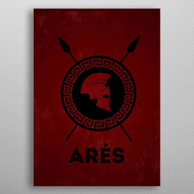 High-quality metal print from amazing Olympus Minimalist collection will bring unique style to your space and will show off your personality. metal poster