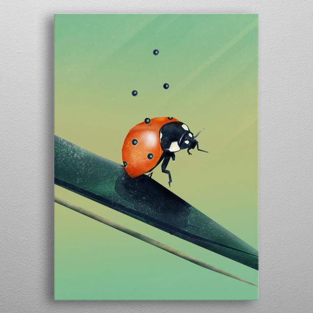 Oh, Bugger (Spring Version) | Digital Art  metal poster
