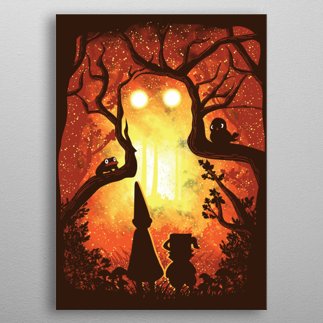 Inspired by the cartoon TV show Over the Garden Wall. I hope you like it! :) metal poster