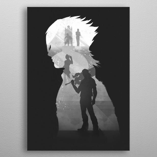 Noctis metal poster