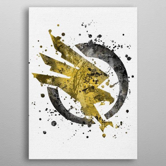 Command and Conquer - GDI metal poster