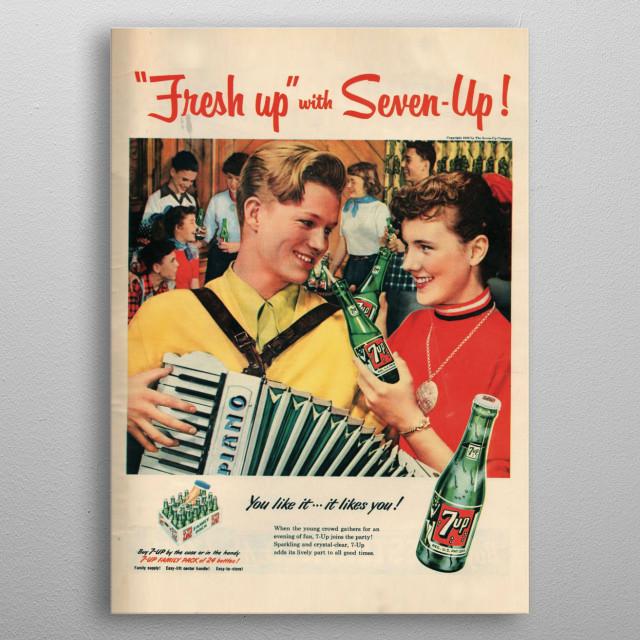 Vintage Advertising Poster metal poster