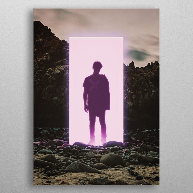 The Middle Of Nowhere  metal poster