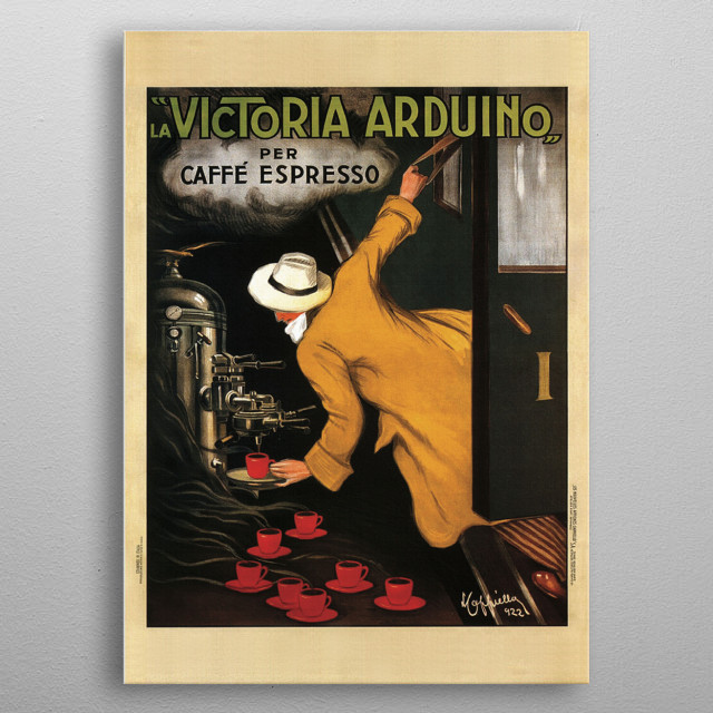 High-quality metal print from amazing Vintage Advertising Posters collection will bring unique style to your space and will show off your personality. metal poster
