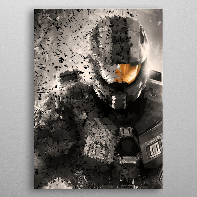 The Spartan.  metal poster