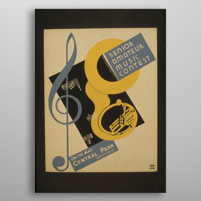 Vintage Art&Design Poster metal poster
