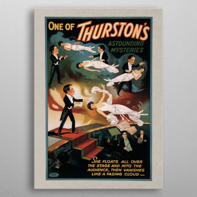 Vintage Circus Poster  metal poster