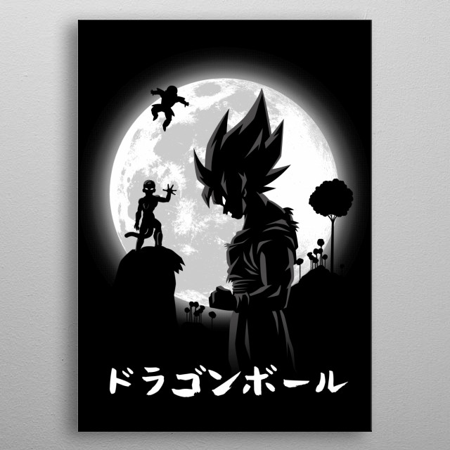 Goodbye Friend! metal poster