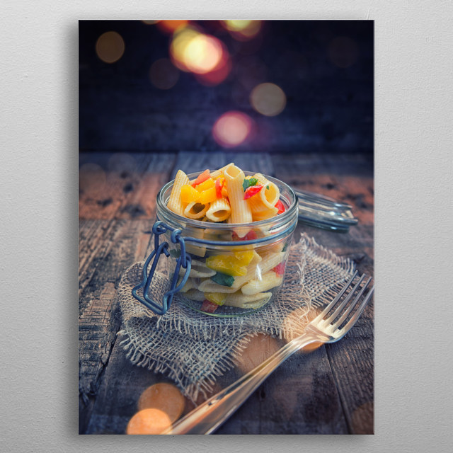 High-quality metal print from amazing Food collection will bring unique style to your space and will show off your personality. metal poster