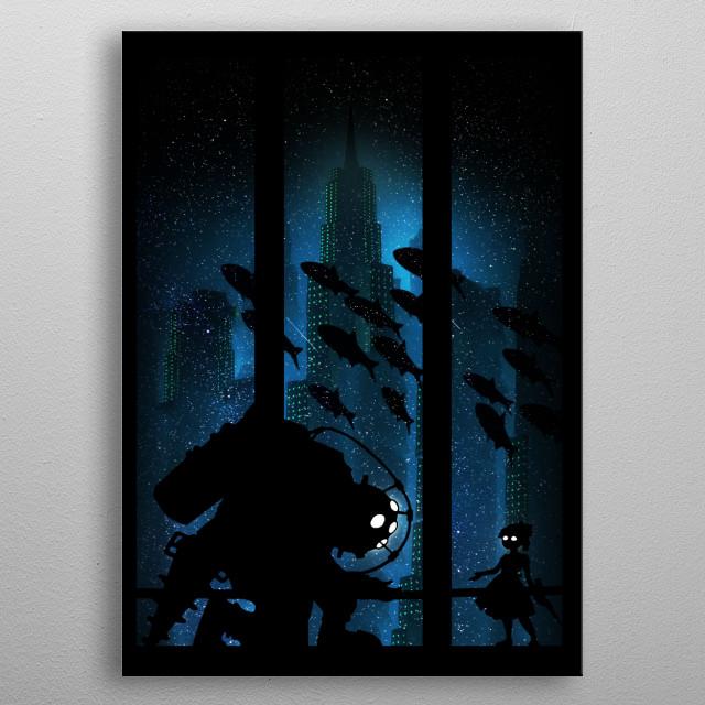 Underwater Rapture  metal poster